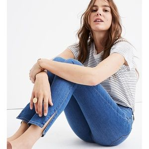 Madewell | High Rise Skinny Jeans with Side Slits